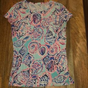 Lilly Pulitzer Shell Tee